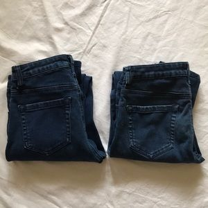 TWO PAIRS OF JEANS FOR PRICE OF ONE!